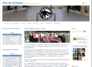 Floorball Black Wolves Webseite