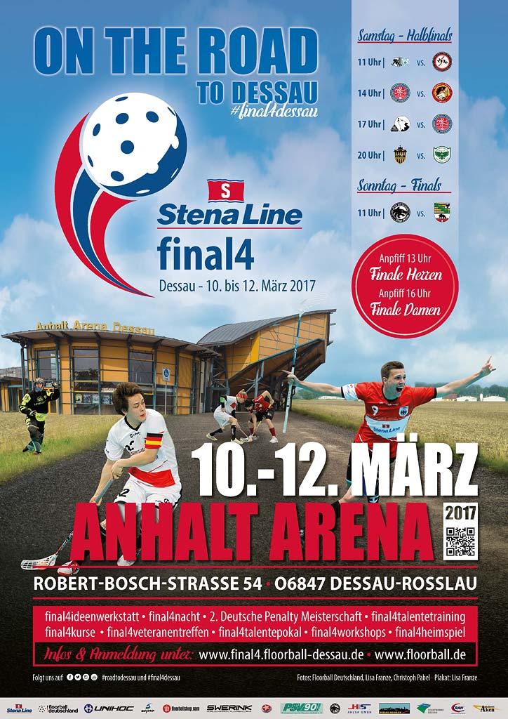 final4 Floorball in Dessau