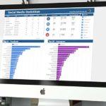Social Media Statistik für Floorball