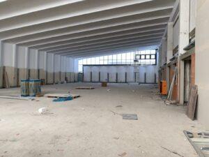 Umbau - Sporthalle Zoberberg