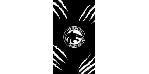 Mobil Hintergrund - Black Wolves (16:9)