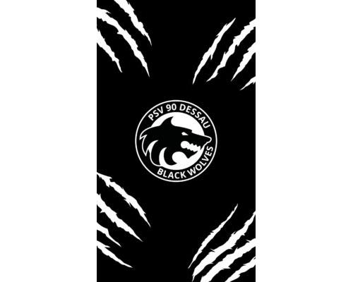 Mobil Hintergrund – Black Wolves (16:9)